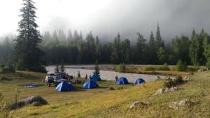 Лагерь на Чуе м