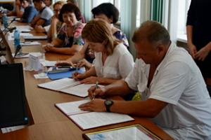 подписание договора между учреждениями1